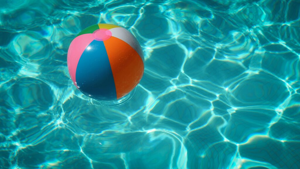 inflatable ball in the pool chemicals guide